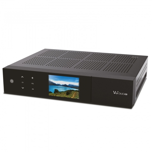 VU+ Duo 4K E2 Linux Receiver UHD 2160p mit 1x DVB-S2X FBC Twin Tuner