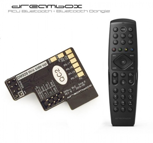 Dreambox Fernbedienung BT/IR Bundle für alle Dreambox Receiver